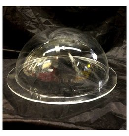 "Plexiglass Dome Clear 12"" Dia 1/4"" Thick"