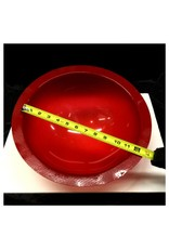 """Plexiglass Dome Frosted Red 12"""" Dia 1/8"""" Thick"""