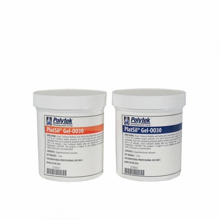 Polytek PlatSil Gel 0030 Trial (2lb)