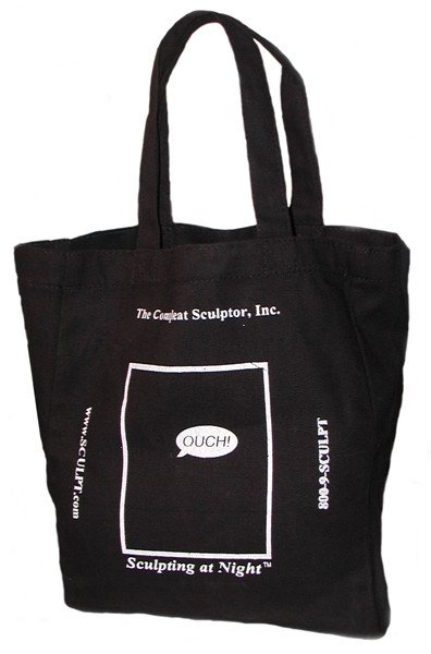 Just Sculpt TCS Black Tote Bag Small