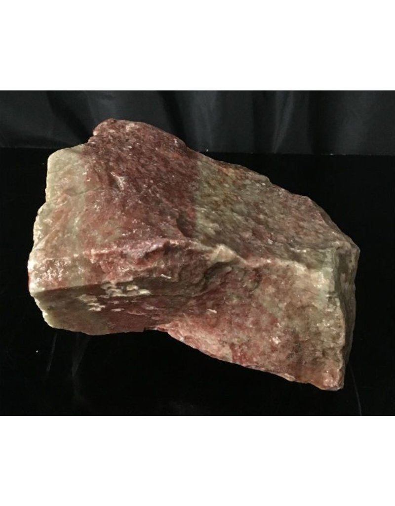 Mother Nature Stone 15lb Gala Red Soapstone 8x7x6 #031036