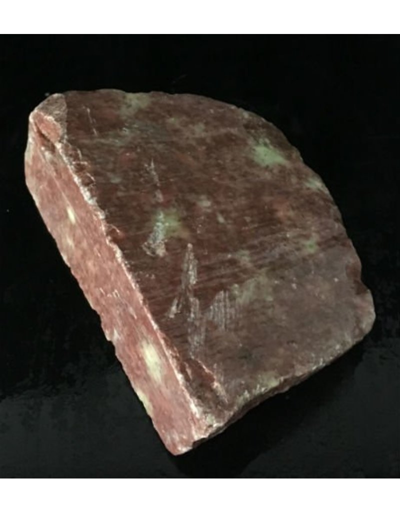 Mother Nature Stone 4lb Gala Red Soapstone 7x5x2 #031037