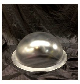 "Plexiglass Dome Frosted 12"" Dia 1/8"" Thick"