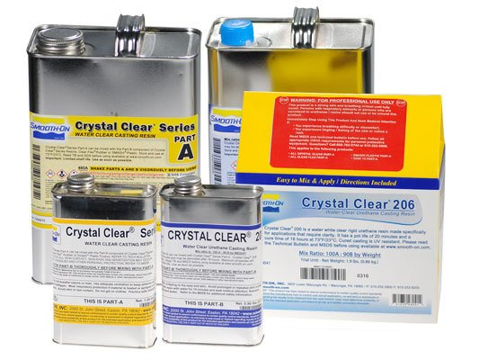 Smooth-On Crystal Clear 206 2 Gallon Kit Special Order