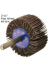 Aluminum Oxide Flap Wheel 2''x1'' 60 grit