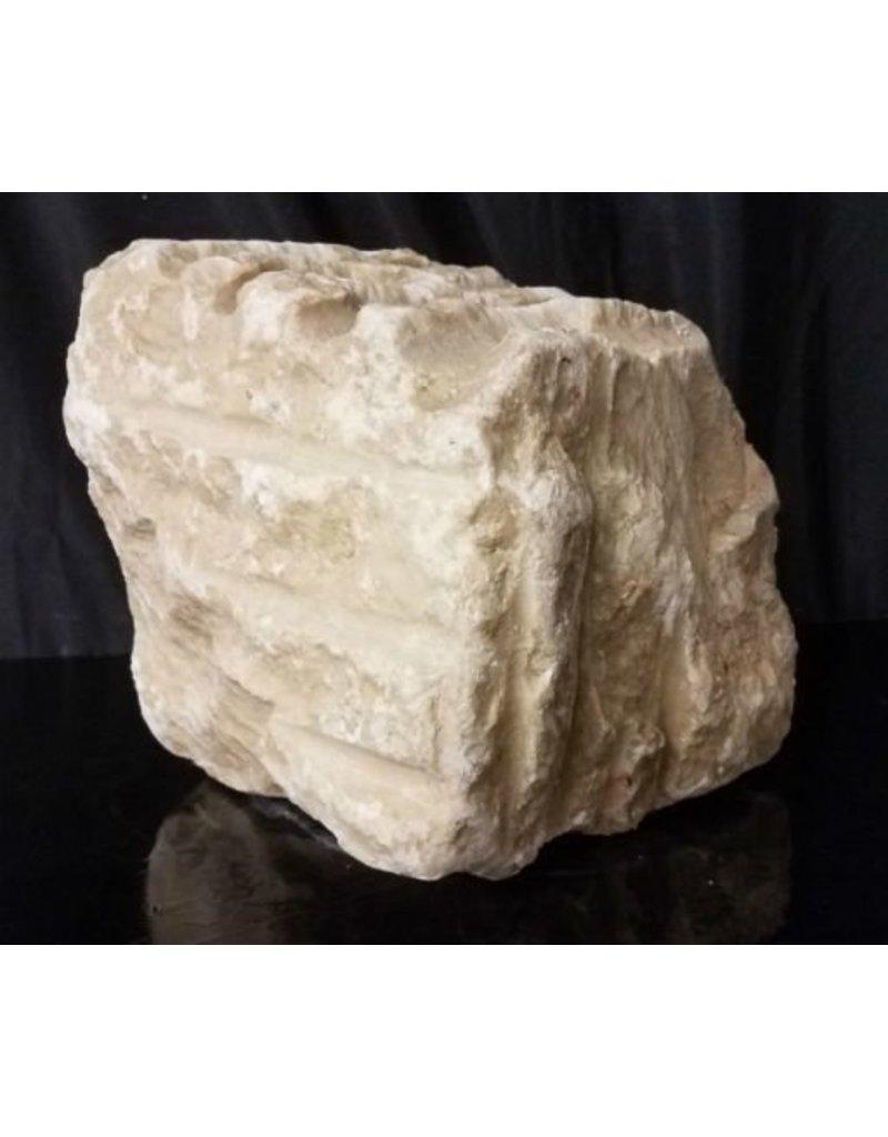 Stone 66lb Colorado White Alabaster 10x9x5 #1111007