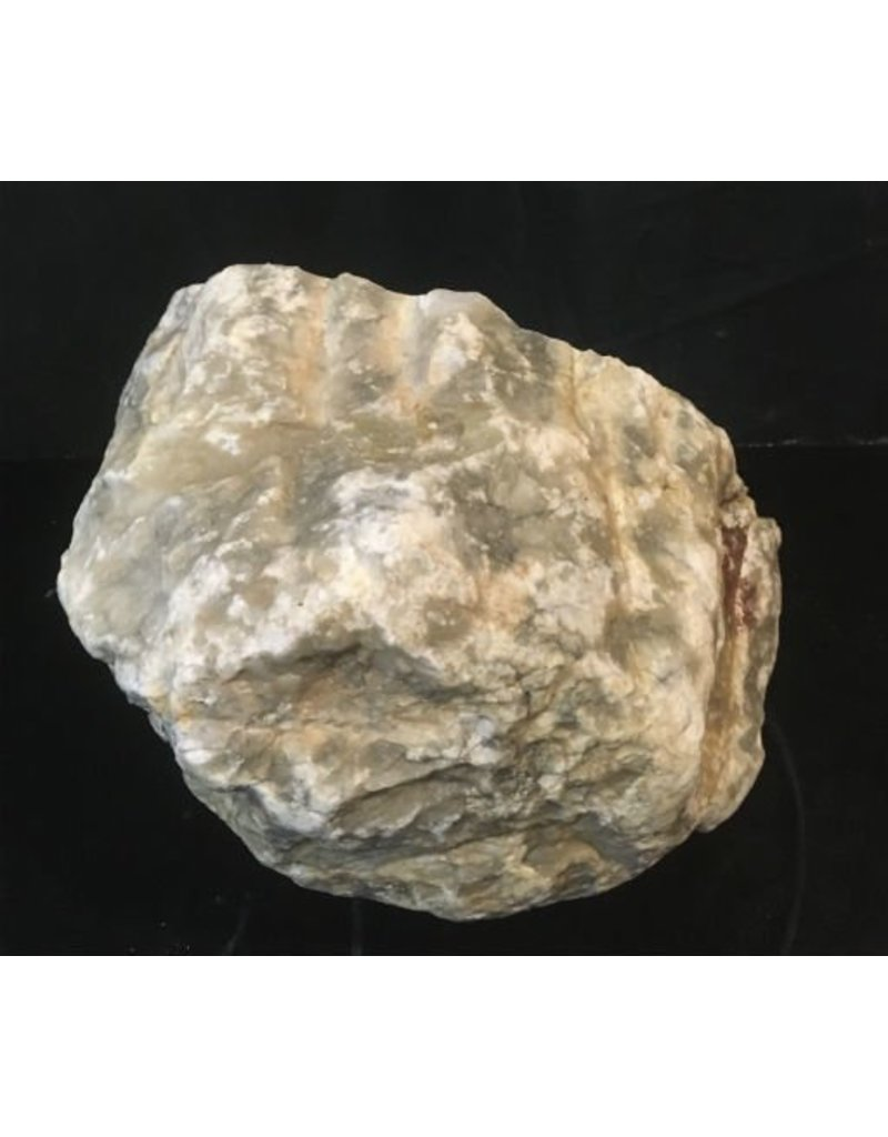 Stone 38lb Mario's Bardiglio Alabaster Boulder 13x8x8 #554439