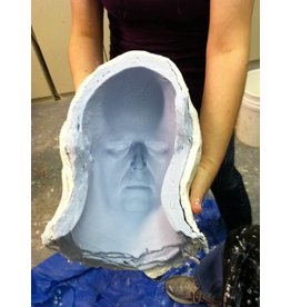 TCS Classes Face Casting & Mold Making Demo- July 19, 2017