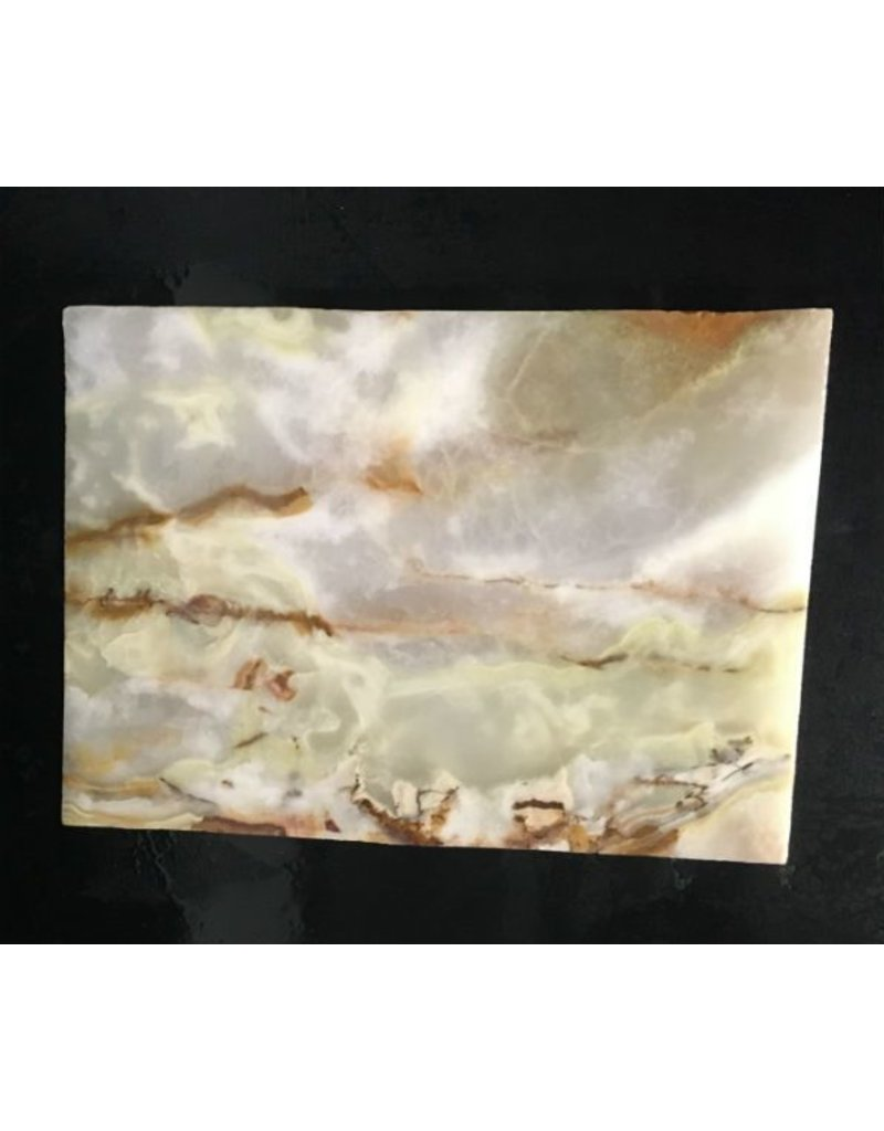 Mother Nature Stone 6lb Pakistani Onyx 9x6x1 #521047