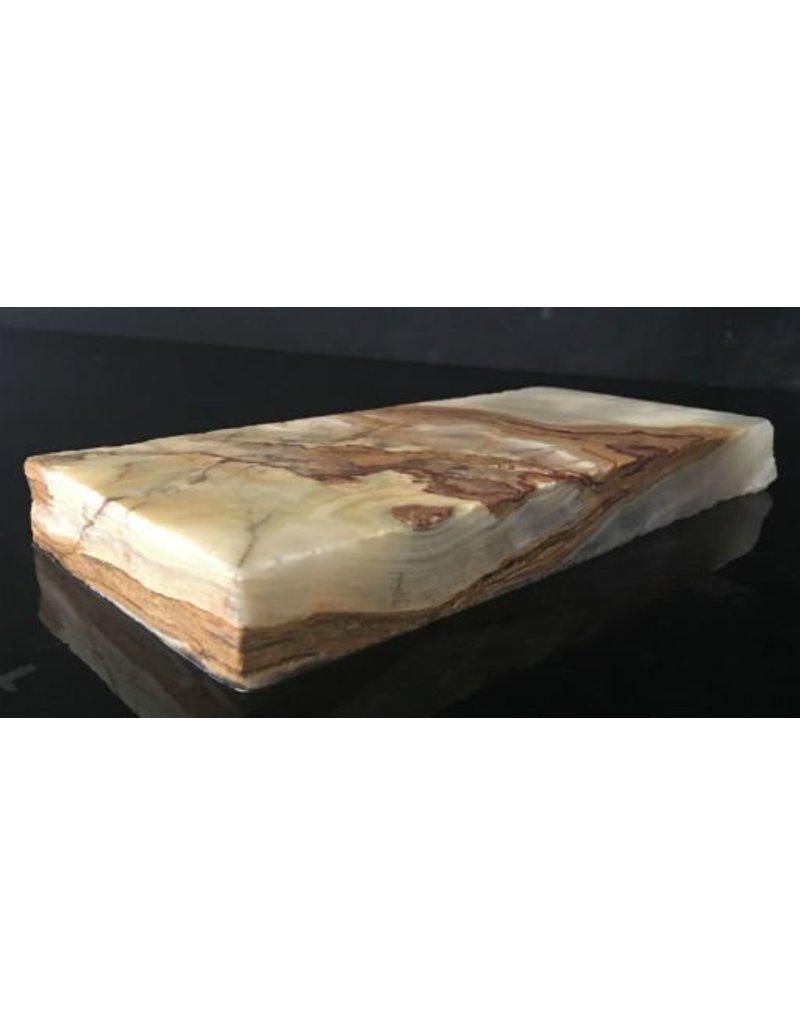 Mother Nature Stone 4lb Pakistani Onyx 9x4x1 #521045