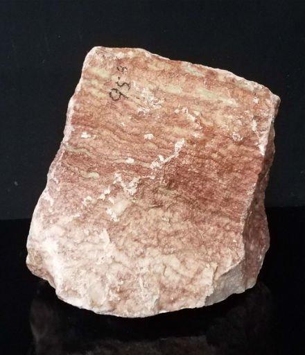 Stone 95lb Red Raspberry Alabaster 15x11x11 #161062
