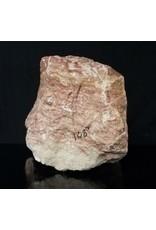 Stone 108lb Red Raspberry Alabaster 12x11x11 #161061
