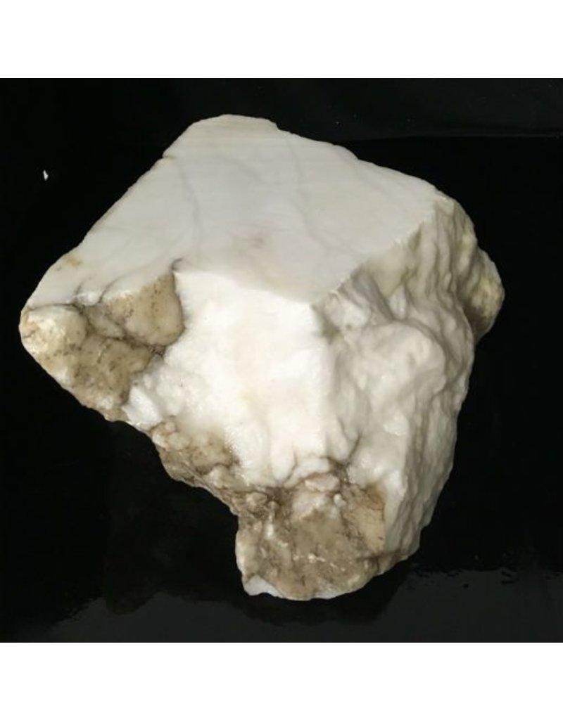 Stone 45lb Tirafsci's White Opaque Slab 12x11x6 #111029