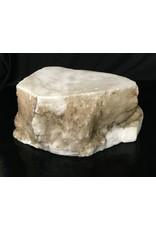 Mother Nature Stone 38lb Tirafsci's White Opaque Slab 13x8x6 #111026