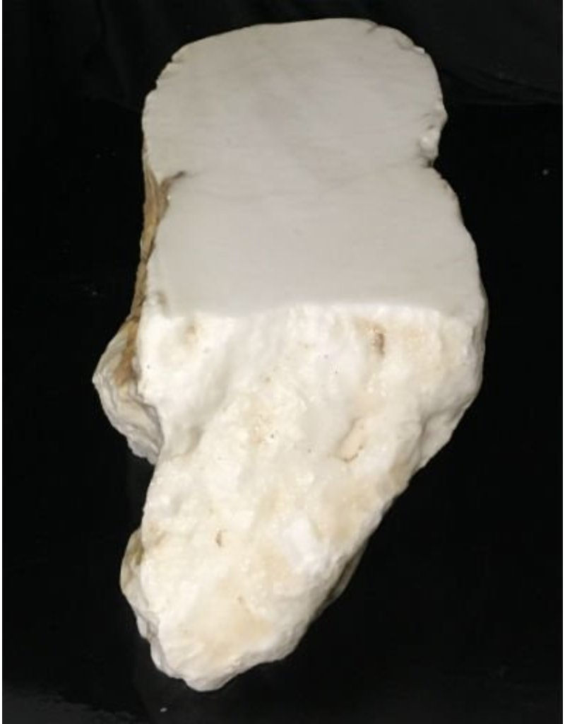 Mother Nature Stone 42lb Tirafsci's White Opaque Slab 12x7x6 #111033