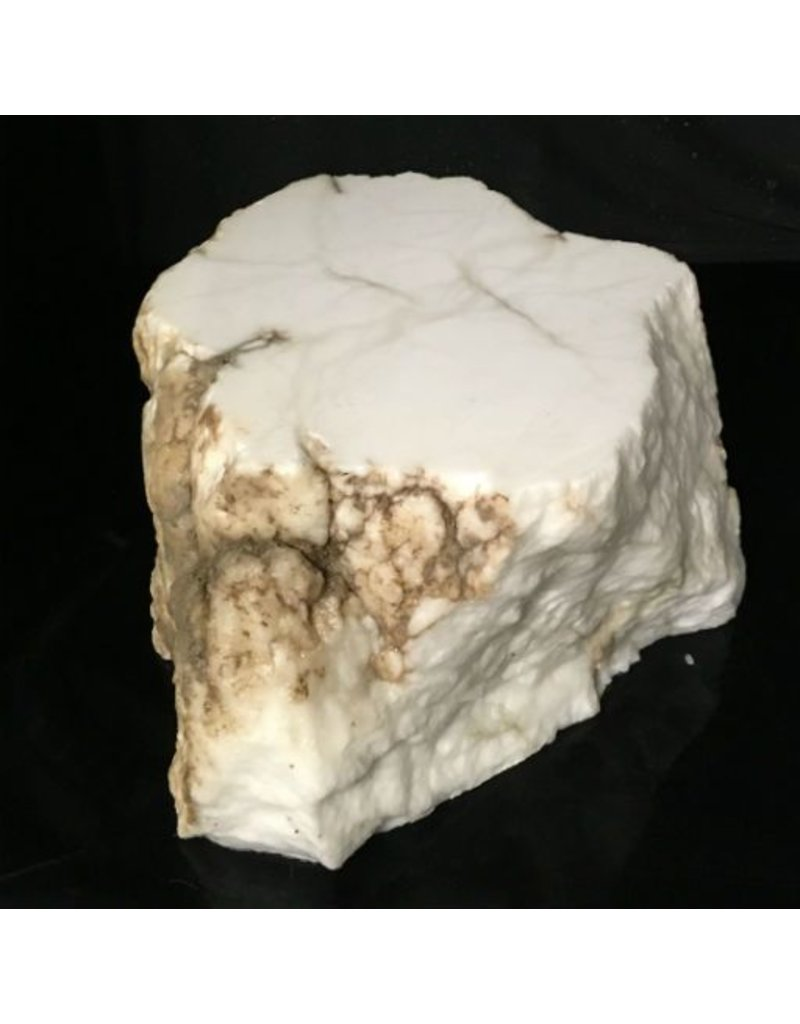 Mother Nature Stone 50lb Tirafsci's White Opaque Slab 12x11x6 #111035