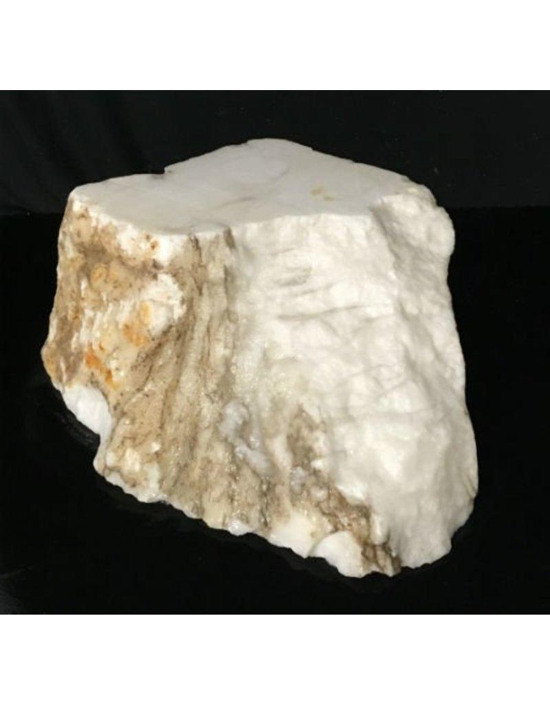 Stone 43lb Tirafsci's White Opaque Slab 15x11x6 #111043