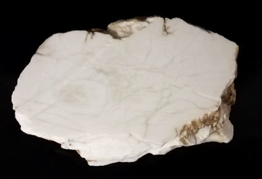 Stone 66lb Tirafsci's White Opaque Slab 15x11x6 #111042