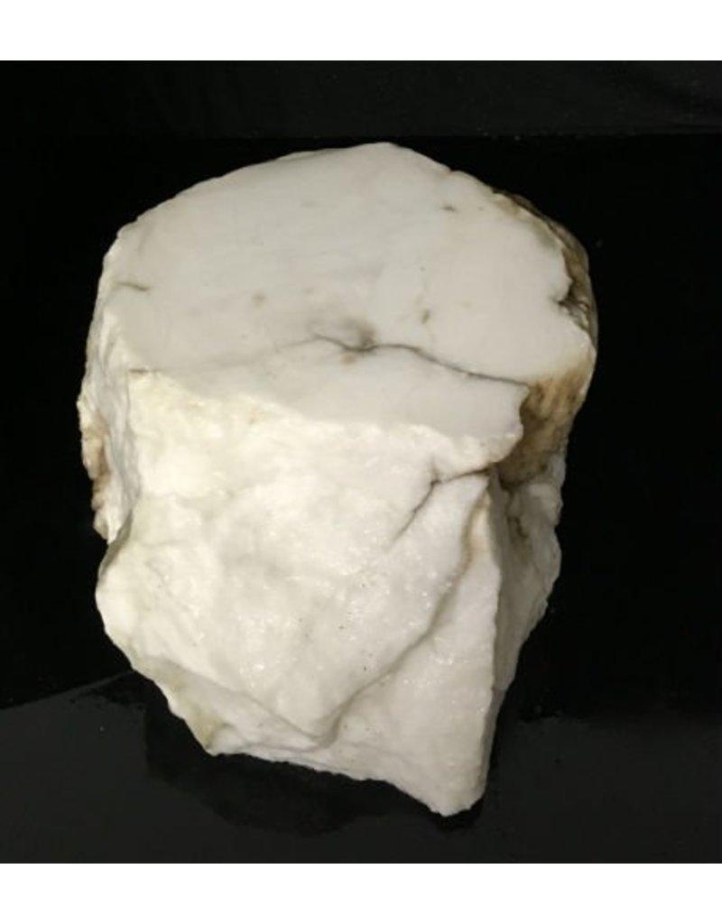 Mother Nature Stone 53lb Tirafsci's White Opaque Slab 14x10x6 #111041