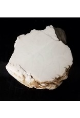 Stone 68lb Tirafsci's White Opaque Slab 15x12x6 #111040