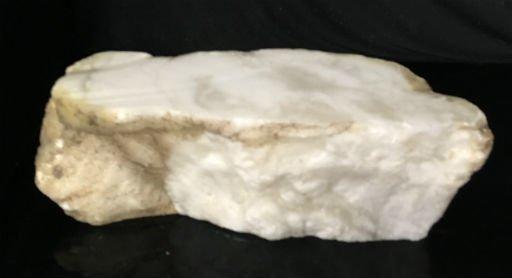 Stone 44lb Tirafsci's White Opaque Slab 18x6x6 #111039