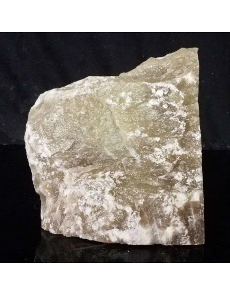Mother Nature Stone 16lb Black Translucent Alabaster 8x7x5 #772348