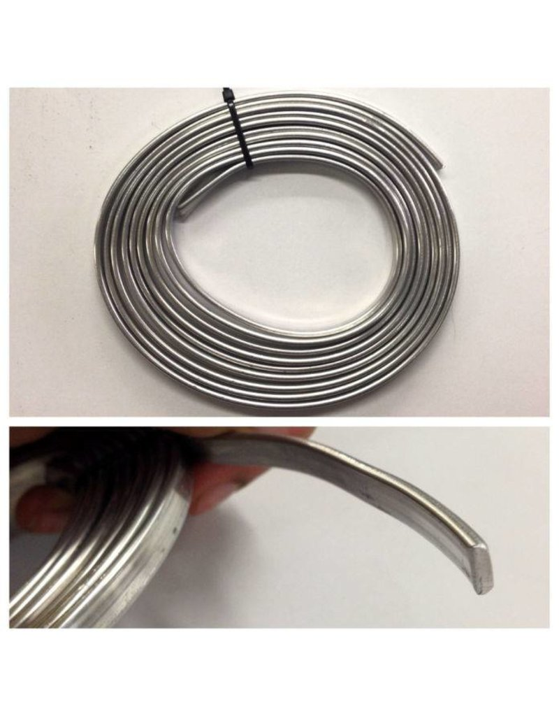 Just Sculpt Flat Armature Wire 1/4'' 10ft Roll