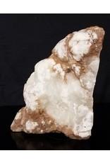 Stone 41lb Mario's White Translucent Alabaster 12x9x9 #101058