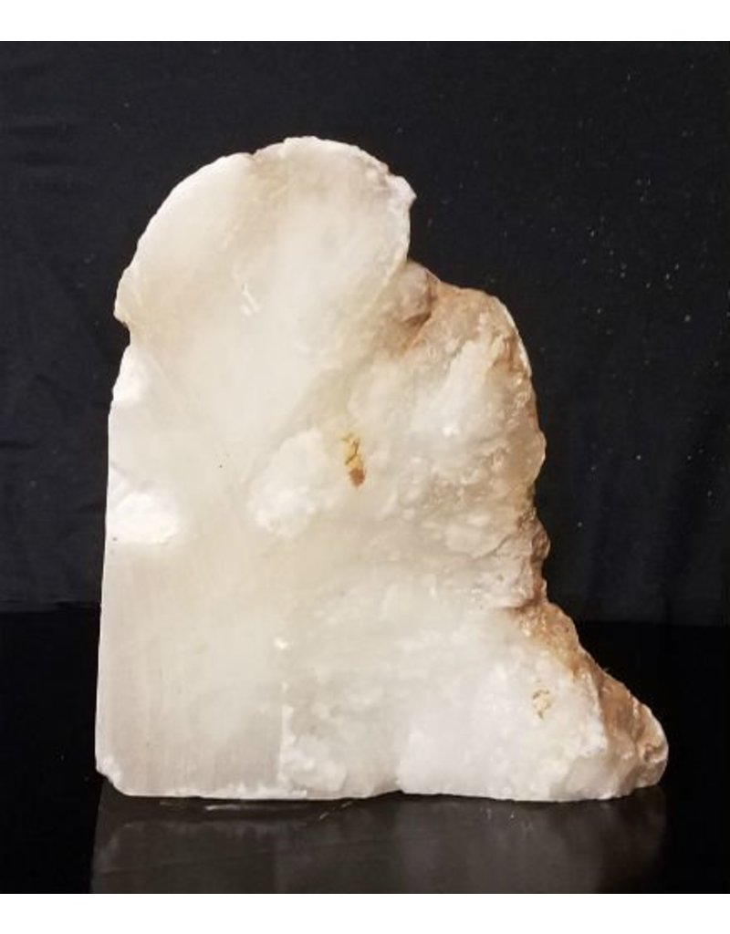 Mother Nature Stone 41lb Mario's White Transluent Alabaster 12x9x9 #101058