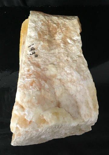 Stone 84lb Honeycomb Calcite 12x11x7 #371024