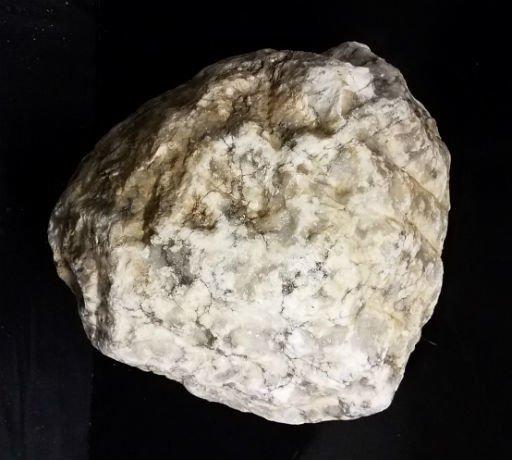 Stone 83lb Mario's Italian Bardiglio Alabaster Boulder 12x12x11 #554442