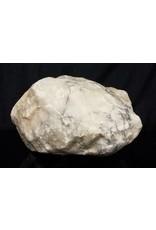 Stone 53lb Mario's Italian Bardiglio Alabaster Boulder 13x8x7 #554441