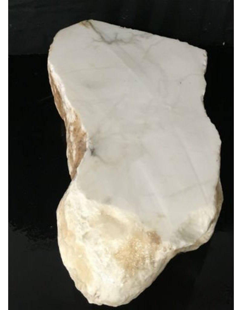Stone 94lb Tirafsci's White Opaque Slab 18x11x6 #111052