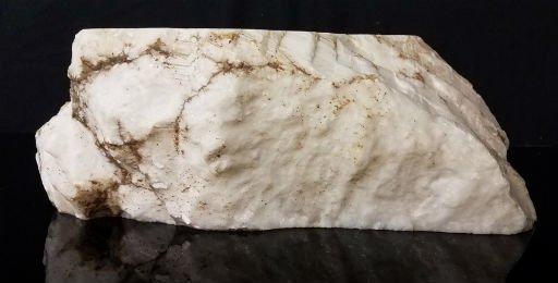 Stone 54lb Tirafsci's White Opaque Slab 17x9x6 #111071