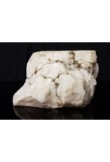 Mother Nature Stone 54lb Tirafsci's White Opaque Slab 17x9x6 #111071