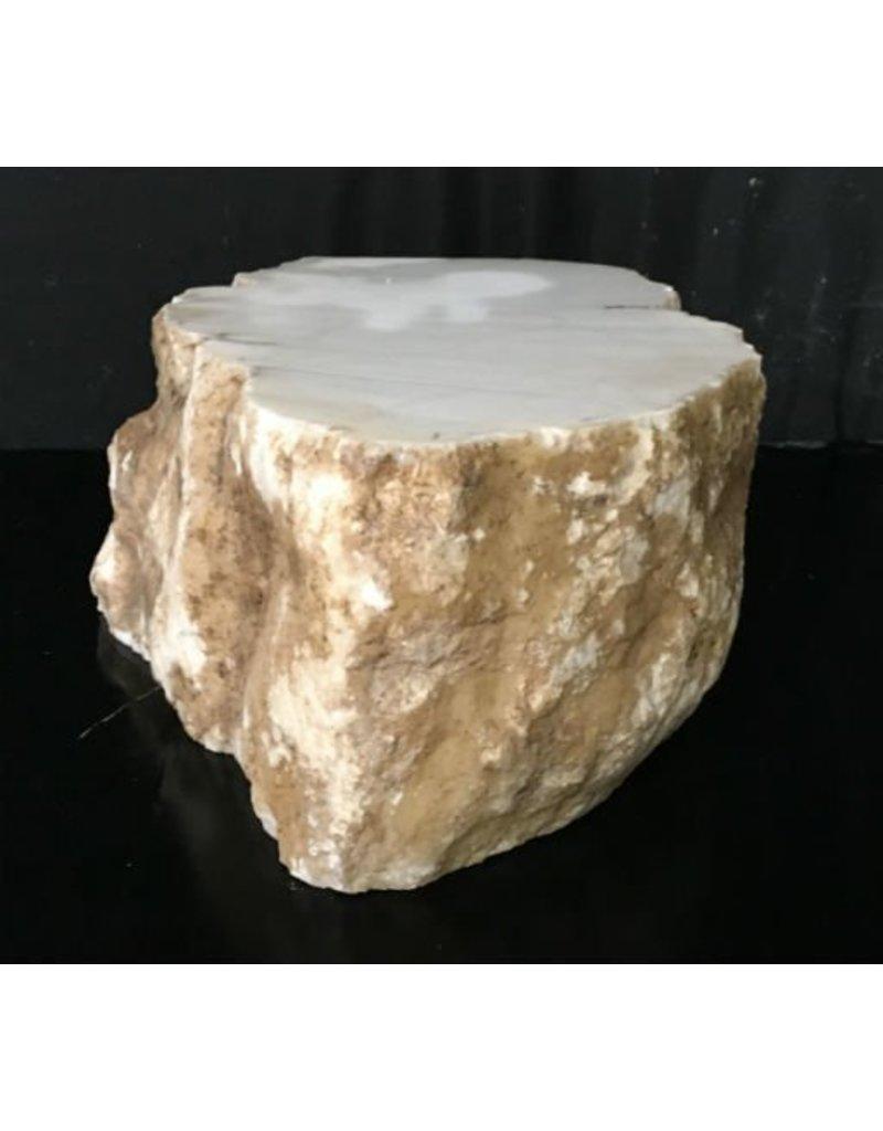 Stone 83lb Tirafsci's White Opaque Slab 17x11x6 #111062