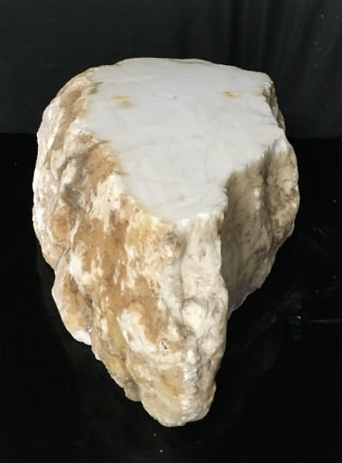 Stone 82lb Tirafsci's White Opaque Slab 19x13x6 #111061