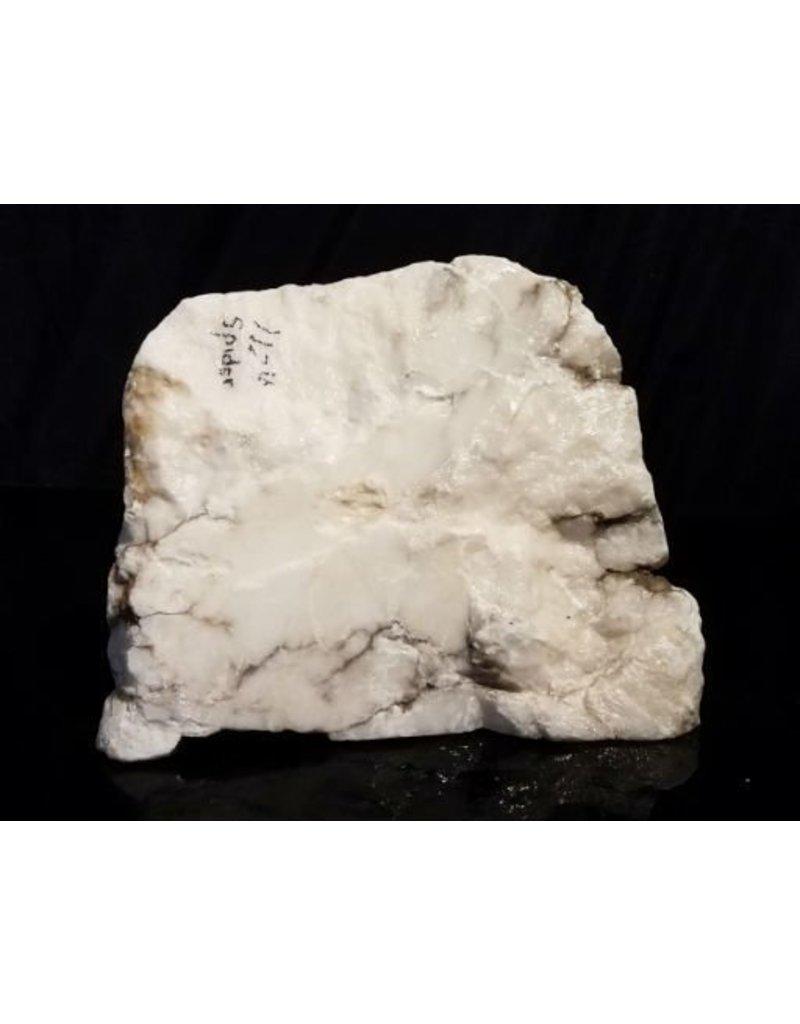 Stone 39lb Mario's Italian Bardiglio Alabaster Boulder 11x9x9 #554444