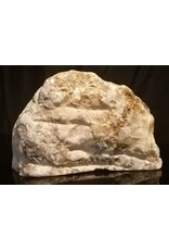Stone 44lb Mario's Italian Bardiglio Alabaster Boulder 13x8x8 #554445
