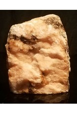 Stone 2lb Orange Translucent Alabaster 6x4x1 #554323
