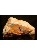 Stone 6lb Orange Translucent Alabaster 8x5x4 #554321