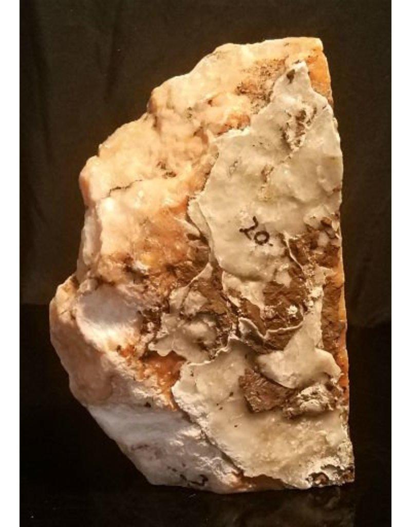 Mother Nature Stone 17lb Orange Translucent Alabaster 11x6x3 #554318