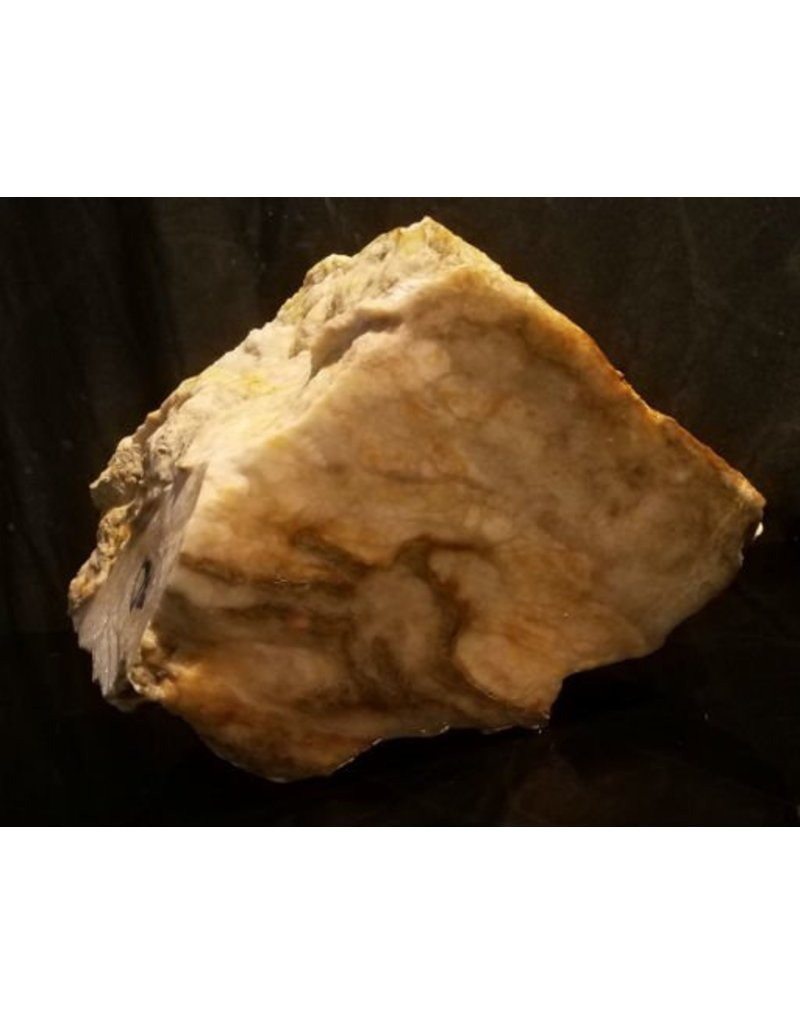 Mother Nature Stone 23lb Harvest Gold Alabaster 9x7x6 #885404