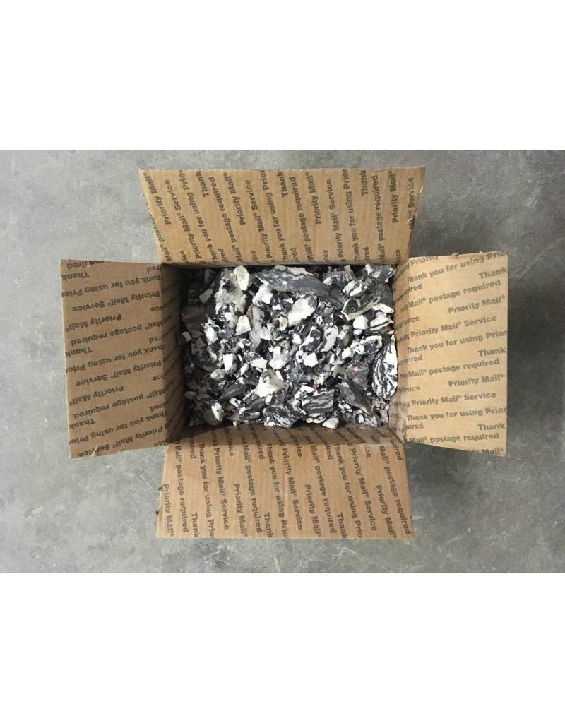 Stone 15lb Box of Small White Tiger Stones