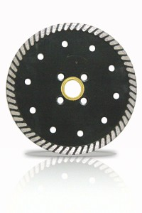 7'' Excel Turbo Diamond Blade w/ Flush Cut Adaptor