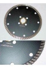 7'' Excel Turbo Diamond Blade w/ Flush Cut Adaptor