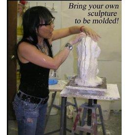 TCS Classes 1022 Mold-Making Hands-On Intensive Workshop October 20-22, 2017