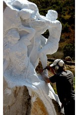 """TCS Classes 1011 Stone Carving Workshop """"Behind the Chisel"""" With John Fisher October 11-15 2017"""