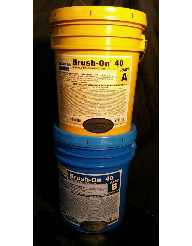 Smooth-On BRUSH-ON 40 10 Gallon Kit