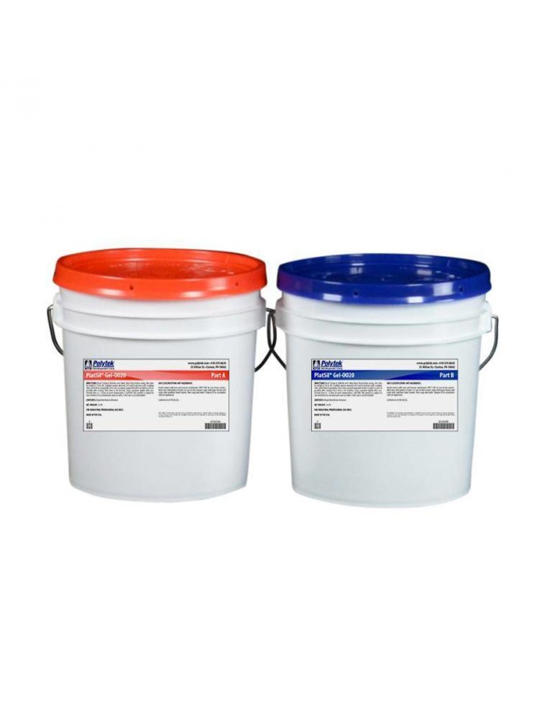Polytek Development PlatSil Gel 0020 2 Gallon Kit (16lb)